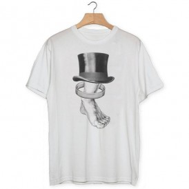 Camiseta Pie anillo sombrero