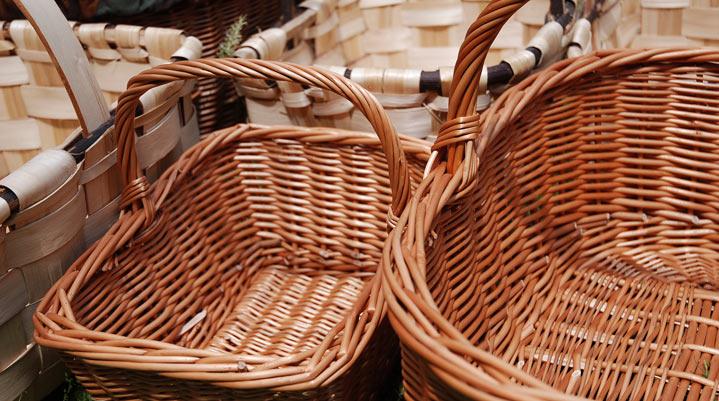 cestas para setas