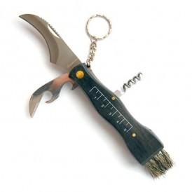 Mushroom knife with opener