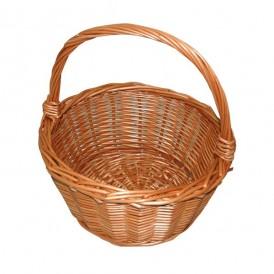 Round mushroom basket