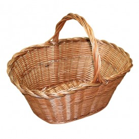 Large wicker basket niscalera