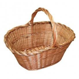 Large wicker basket niscalera