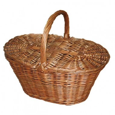 Large niscalera basket with lids