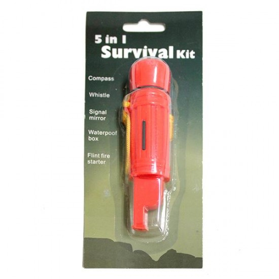 5-in-1 multifunction whistle