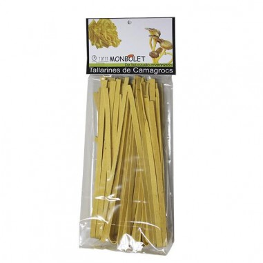 Yellow trumpet noodles