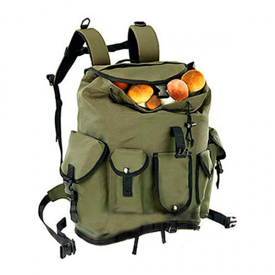 Mushroom backpack with pockets