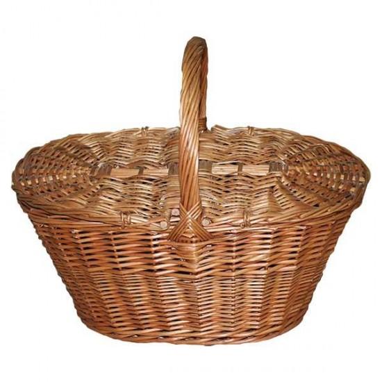 Niscalera basket with wicker lids