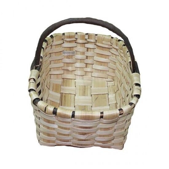 cesto de castaño artesano