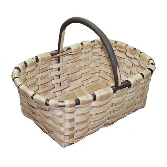 cesta de setas de castaño