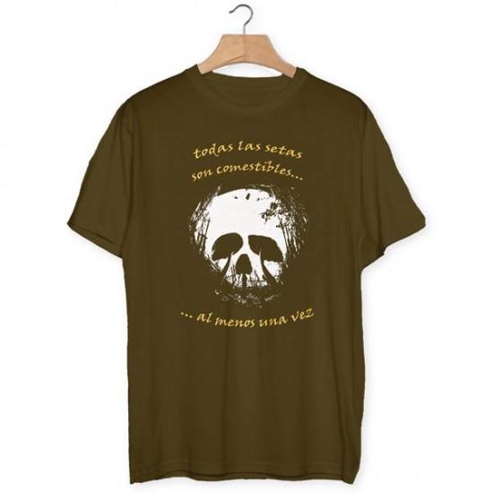 All mushrooms are edible t-shirt