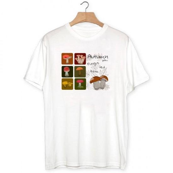 Camiseta Otoño setas