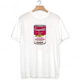 Camiseta Campbells Mushroom soup
