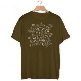 Camiseta Tapiz de setas