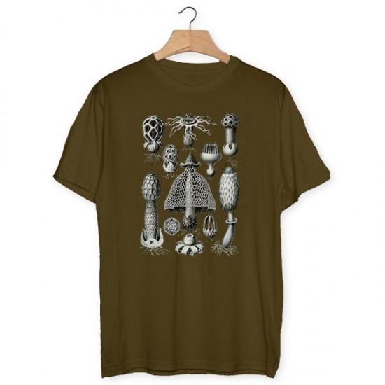 Haeckel mushrooms T-shirt