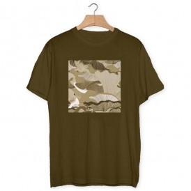 Camouflage Laminated T-shirt