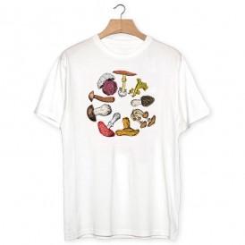 Camiseta Rueda de setas