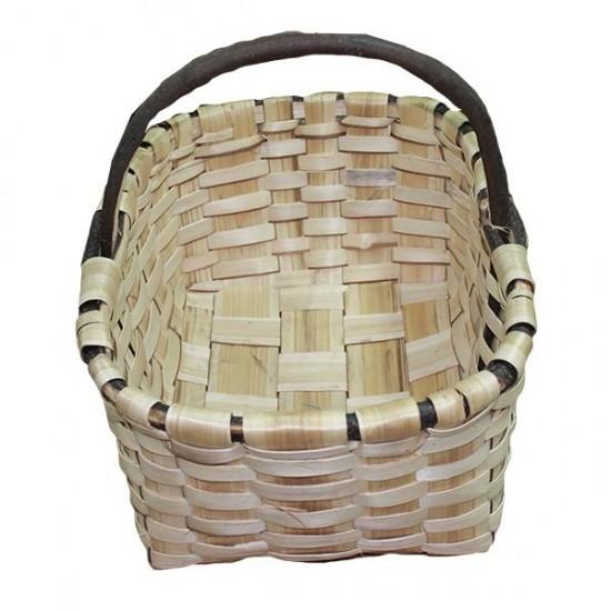 Labrador basket of natural chestnut nº5