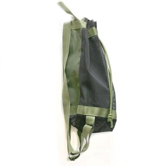 saco mochila malla para setas