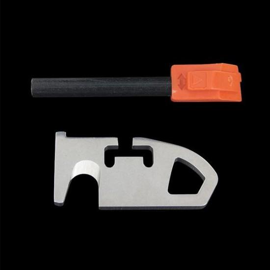 Opinel Explore orange pocket knife