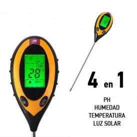 PH-mètre numérique pour sol