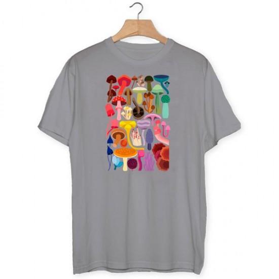 Camiseta Setas de colores