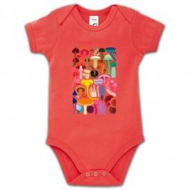 Body bebé SETAS DE COLORES