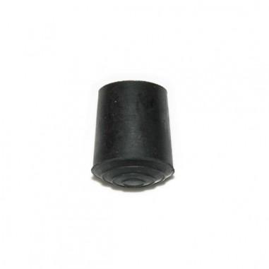 Punta bastón goma redonda 24mm