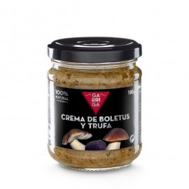 Cream of boletus and truffle cream