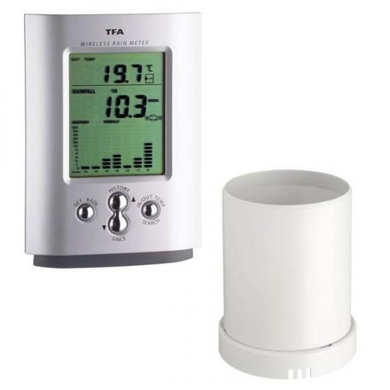 Digital Rain Gauge / Temperature and Rainfall Meter