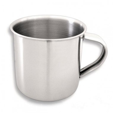 Stainless steel cup 8 cm