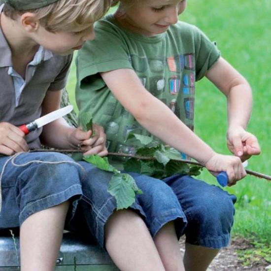 opinel outdoor junior knife blue