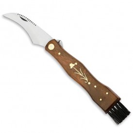 Knife with decorated brush