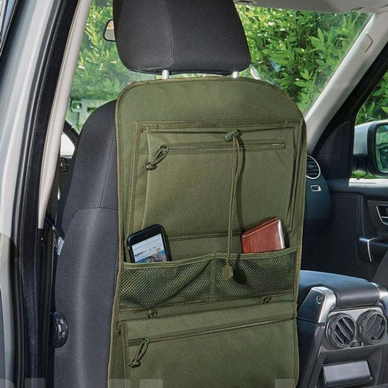 Multi-pocket car organizer