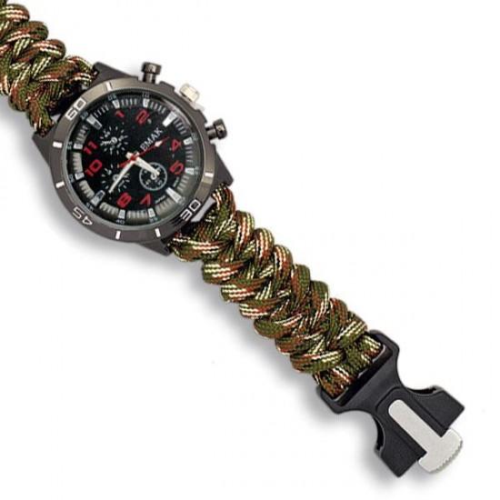 Reloj táctico de supervivencia camuflaje