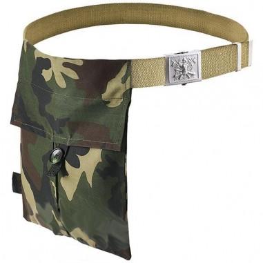 Cinturón con bolsa porta trufas