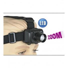 Linterna frontal Led ZOOM 160 lumens
