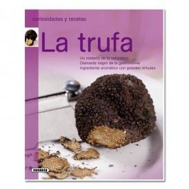 Libro de recetas con trufa