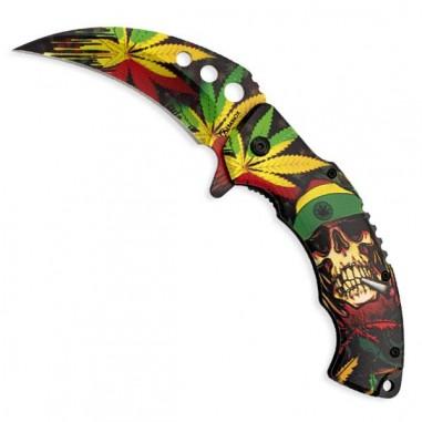 Decorated karambit knife