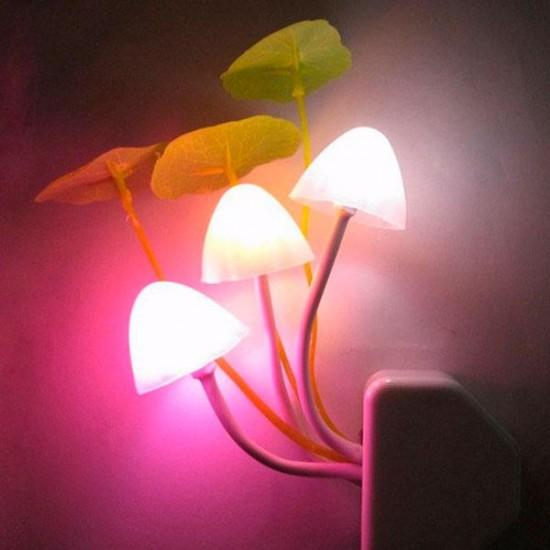Lampara de enchufe LED sensor movimiento