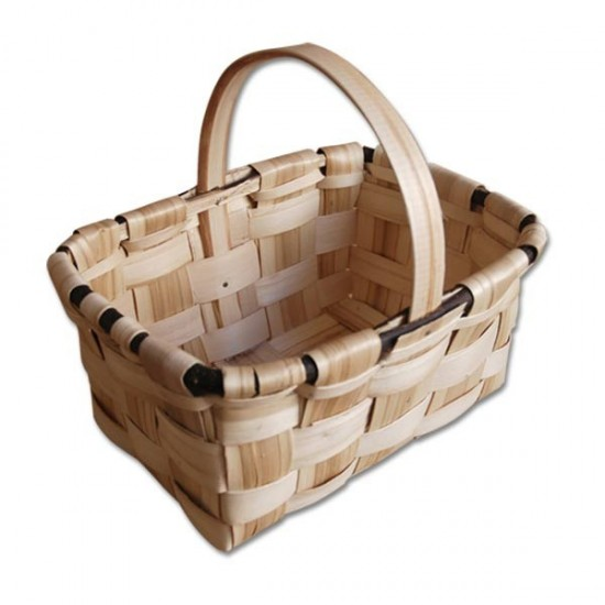 cesta de castaño para setas