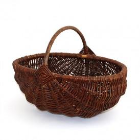 wicker basket large bowl