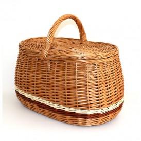 wicker basket with lids 03