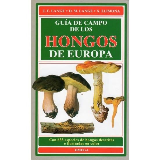 GUÍA DE CAMPO DE HONGOS DE EUROPA,Lange