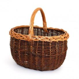 green oval wicker basket 01
