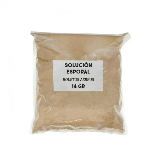 Sporal support solution - Boletus aereus