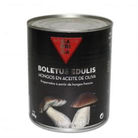 Boletus edulis enaceite de oliva,lata 485gr