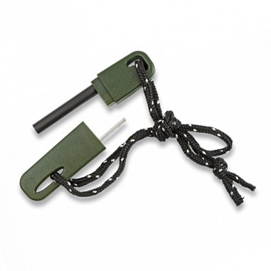 Green portable emergency flame