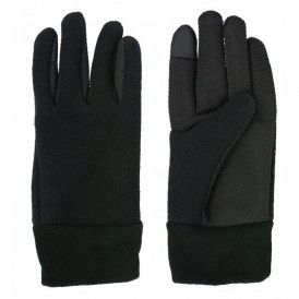 guantes caucho acrilico negro