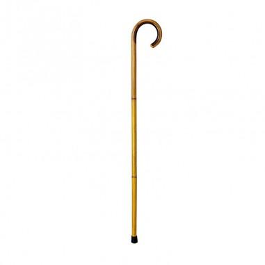 Bastón junco punta de goma 18-20 mm