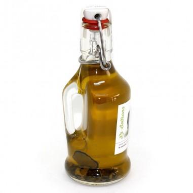 Aceite de oliva con trufa